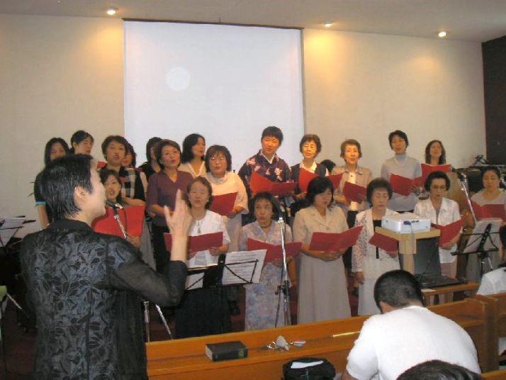 2007年婦人部賛美