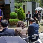 2013/4/29 墓前祭